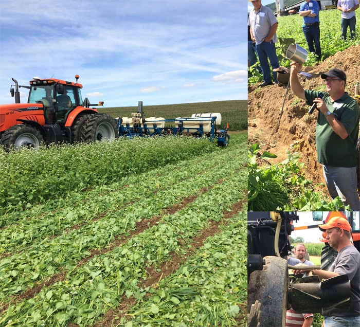 Cover crop innovation, water infiltration improvements demonstrated in Pennsylvania farming