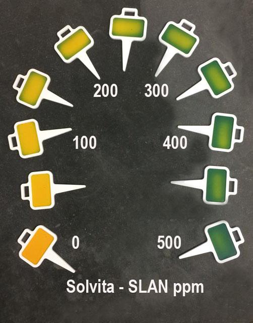 Solvita SLAN test advances across new boundaries
