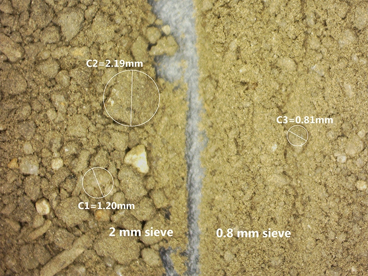 Soil Sieving Study Examines Artifacts in Respiration, SLAN, VAST