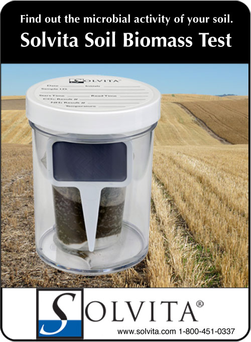 """Solvita: """"The talked-about soil test for 2012"""" also eligible for EQIP cost-share in nutrient budgeting."""