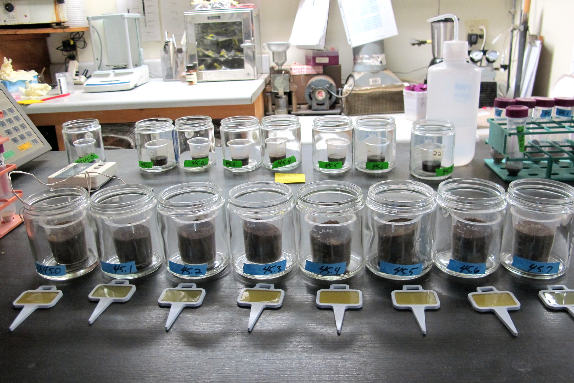 soil lab The accuracy of the soil test is dependent upon how well the soil is sampled  most soil testing laboratories have specific recommendations on.