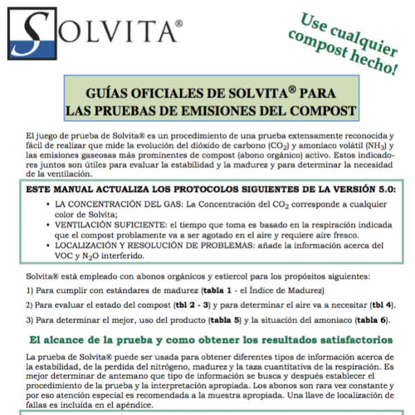 Solvita Compost Manual